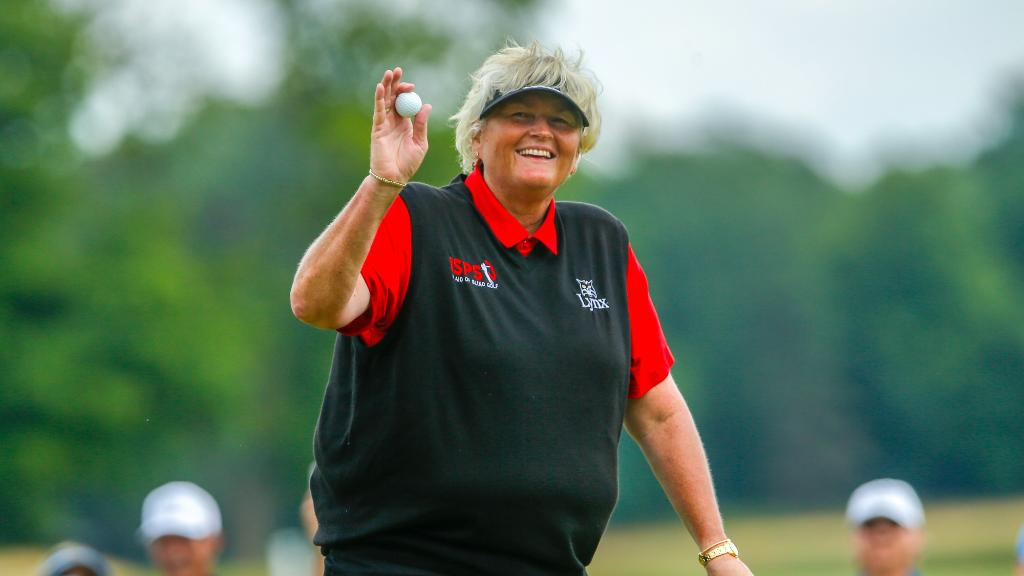 Laura Davies is the inaugural #USSeniorWomensOpen champion! <br>http://pic.twitter.com/4KNKskYMVe