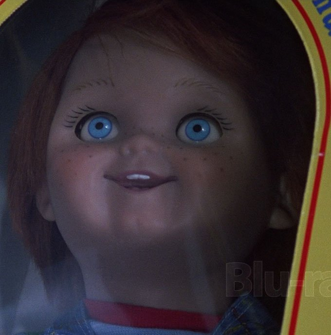 Childs Play (1988) A single mother gives her son a much sought-after doll for his birthday, only to discover that it is possessed by the soul of a serial killer. Directed by Tom Holland, with Catherine Hicks, Chris Sarandon, Alex Vincent & others
