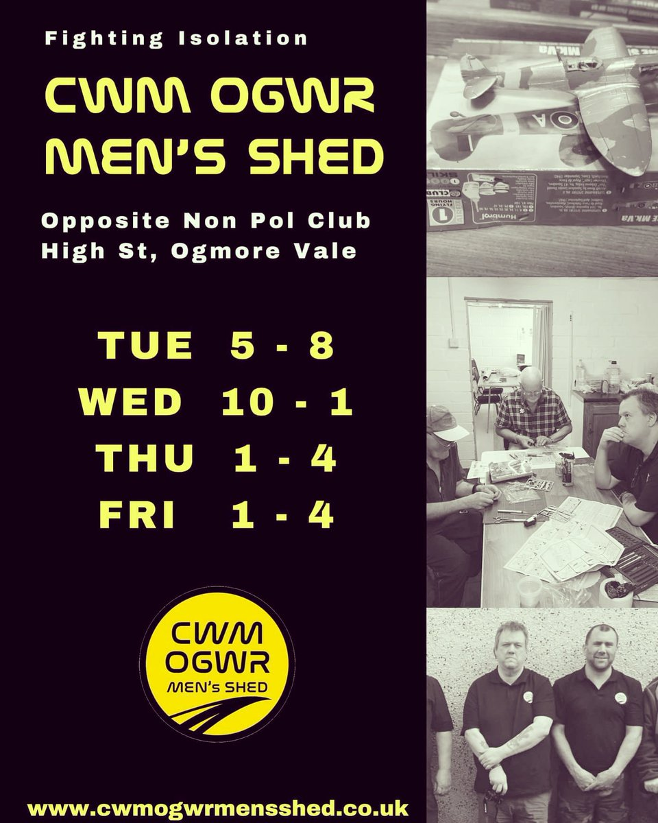 CwmOgwrMensShed photo