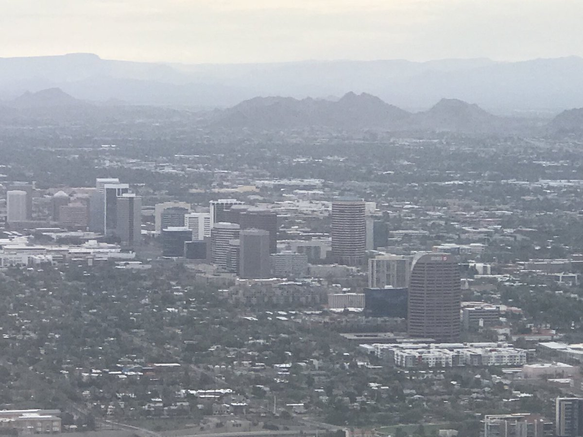 Good morning from the skies of Arizona ☀️❤️ #sunrise #monsoon #azwx