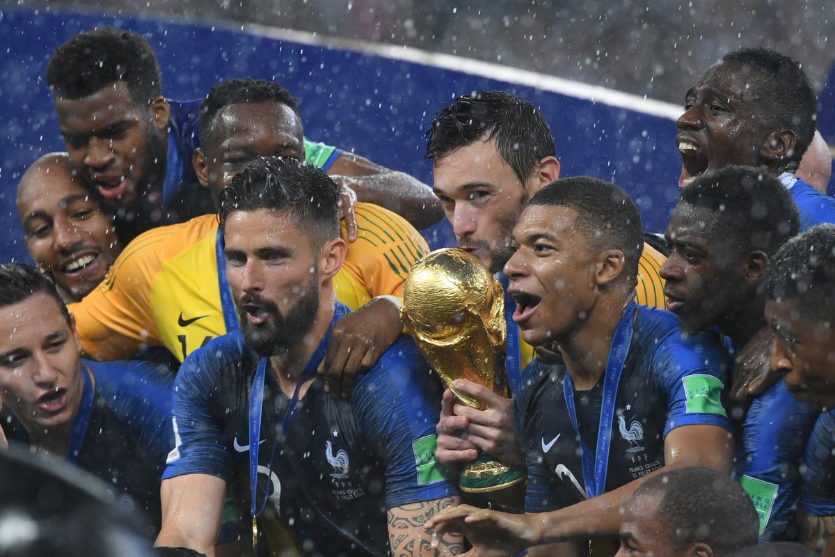 France the logical world champions after a final that was anything but ind.pn/2NkUqWe By @eaamalyon. #WorldCupFinal