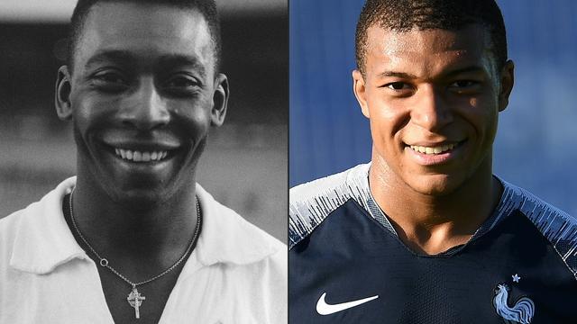 #CM2018 Le bel hommage de Pelé à Kylian Mbappé #FRACRO bit.ly/2L7xaxt