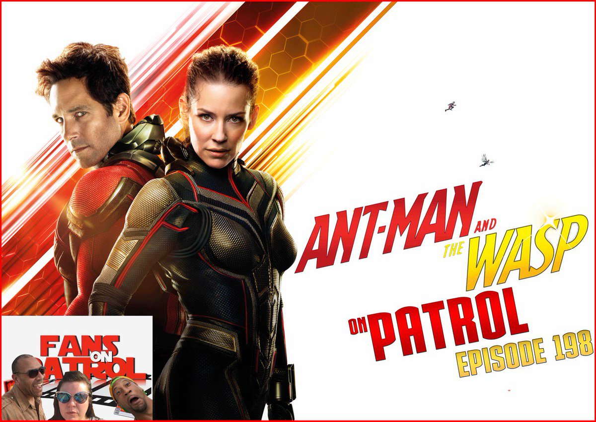 ANT-MAN AND THE WASP ON PATROL EPISODE 198  https://www. podbean.com/media/share/pb -dfvf3-953860#.W0ul59-Sp2Y.twitter &nbsp; …  #AntManAndTheWasp  #JoaquinPhoenix #Joker #Shazam #DCUniverse #Marvel #YtheLastMan #Robocop #podcast #comics #movies #film #podcastmafia #PodernFamily<br>http://pic.twitter.com/vTZA99zZch