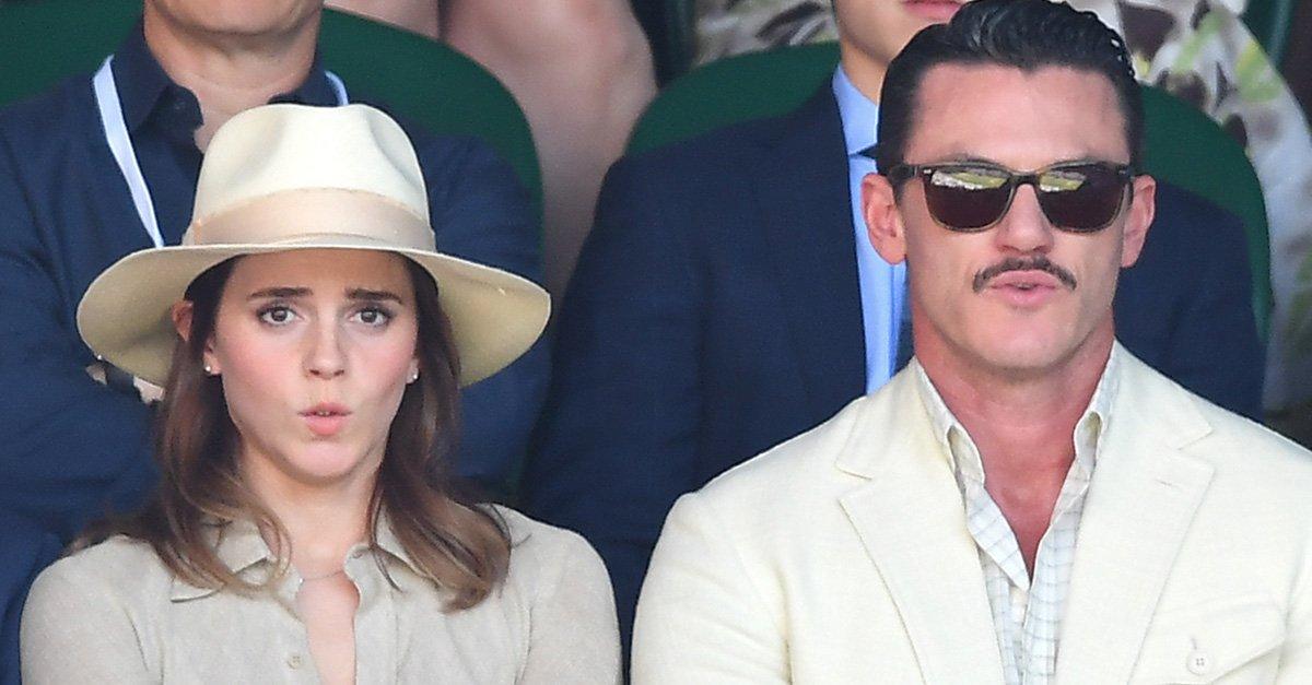 Belle Gaston Reunion Emma Watson Luke Evans Celebs Watching