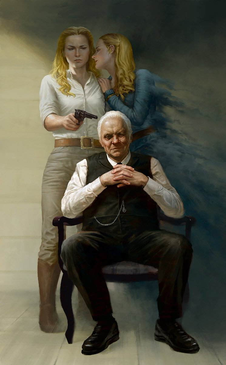 """""""The Bicameral Mind"""" by Vinh Pham #Westworld   http:// bit.ly/2KZsbiX  &nbsp;  <br>http://pic.twitter.com/OXhYkY0RI2"""