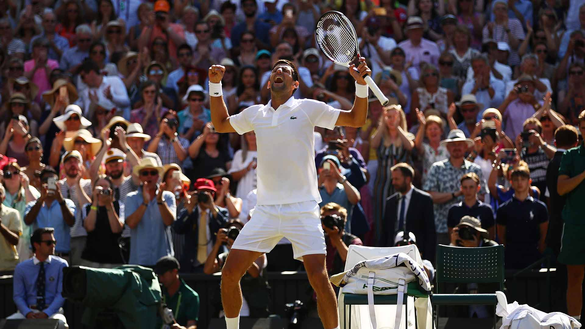 Hey, Novak, how does it feel to win your fourth #Wimbledon ��? ��  ��  ➡️ https://t.co/Isfm5bbYK2 https://t.co/7H5IaqTL9z