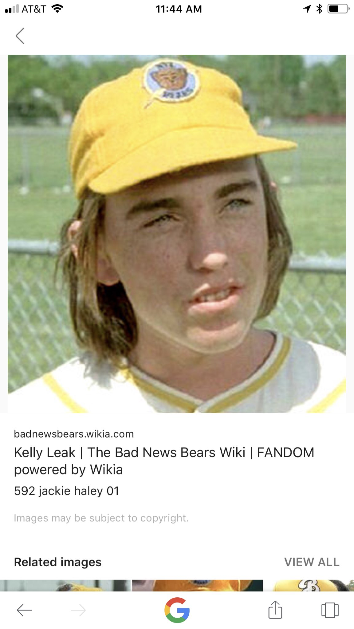"Kelly from ""The Bad News Bears"" is my favorite Croatian player. https://t.co/YXvoljw6G6"