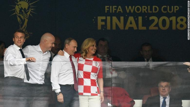 Збірна Франції обіграла Хорватію і стала дворазовим чемпіоном світу з футболу - Цензор.НЕТ 9403