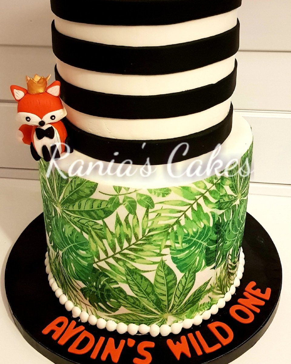 Rania S Cakes On Twitter A Wild Cake For A Cute Little Wild Guy
