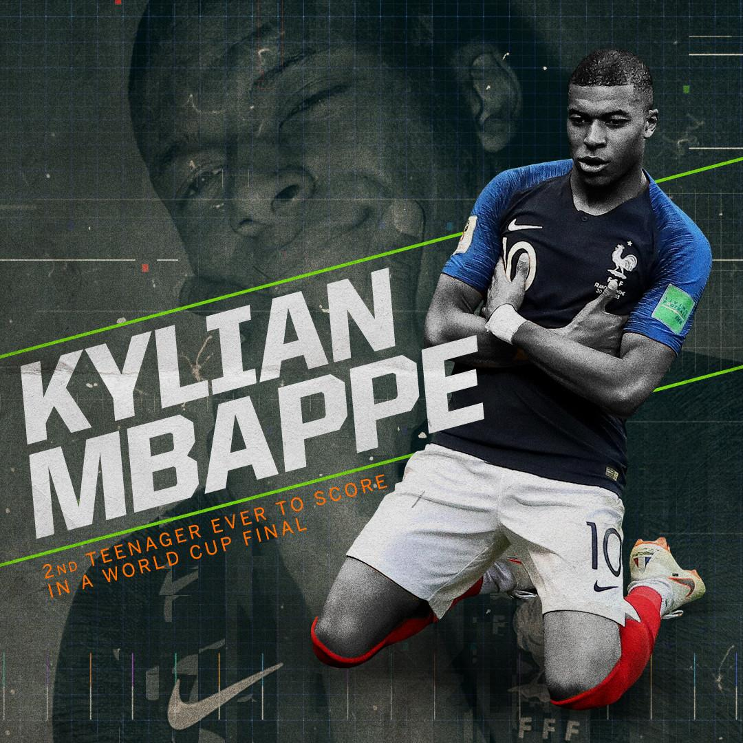 Kylian Mbappe.  Teenager. 😳