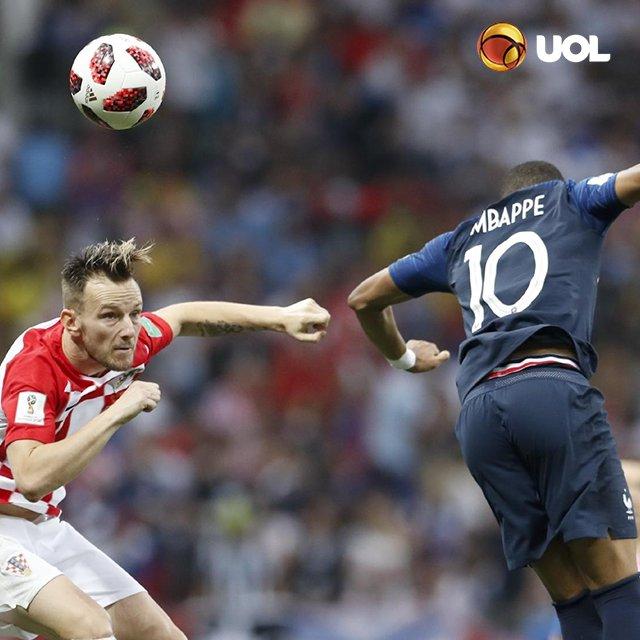 #WorldCupFinal França e Croácia disputam a finalíssima da Copa do Mundo da Rússia https://t.co/eDkLCtmWI5