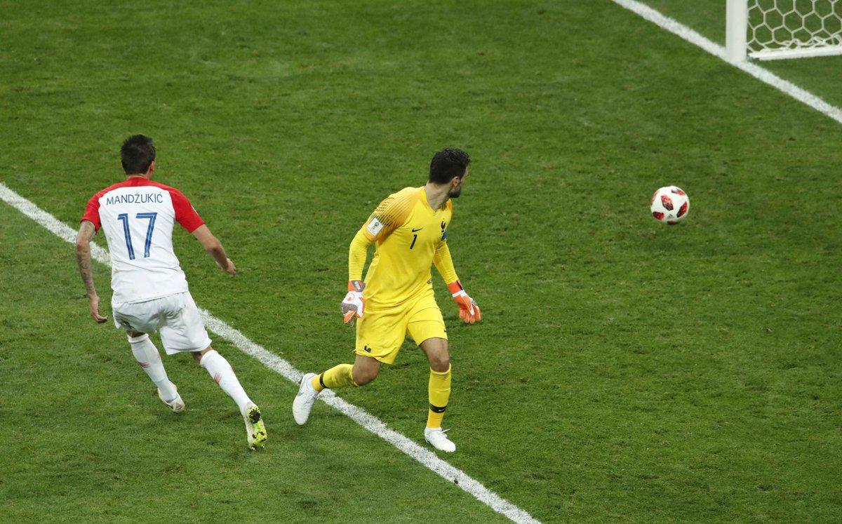هدف كرواتيا الثاني في مرمى فرنسا