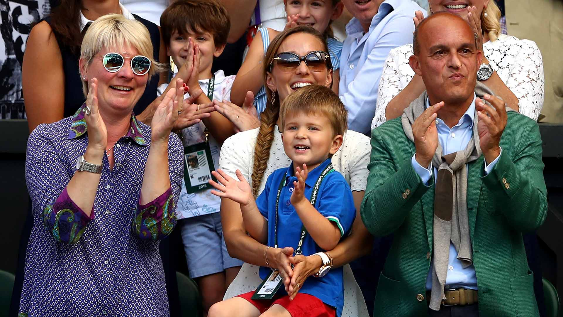 'Daddy! Daddy!': @DjokerNole's favourite #Wimbledon cheer  More ➡️ https://t.co/XBlTWFYGw4 #ATP https://t.co/DqTwLDJpCf