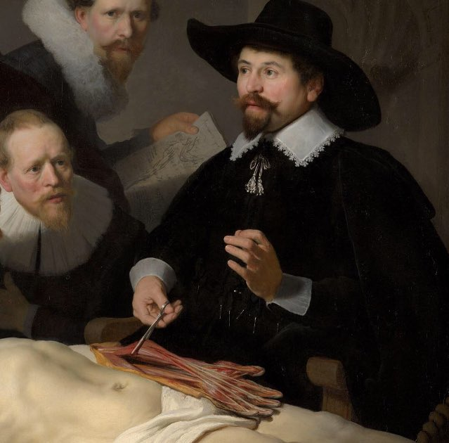 Dailyart On Twitter The Anatomy Lesson Of Dr Nicolaes Tulp Of 1632