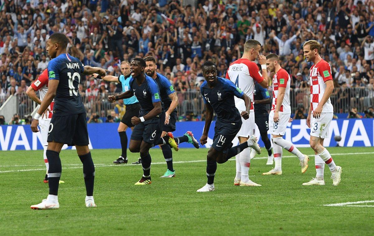 فرنسا بطلة العالم للمرة الثانية في تاريخها 30