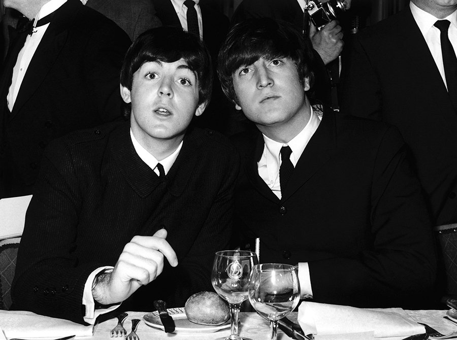 Paul McCartney and John Lennon, 1965