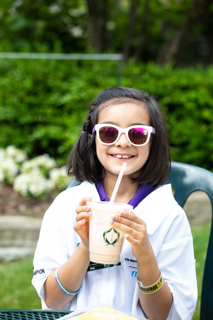 Were celebrating #NationalIceCreamDay in #theMemorial style with two of our favorite things… @nationwidekids patient champions & #theMemorial milkshakes!