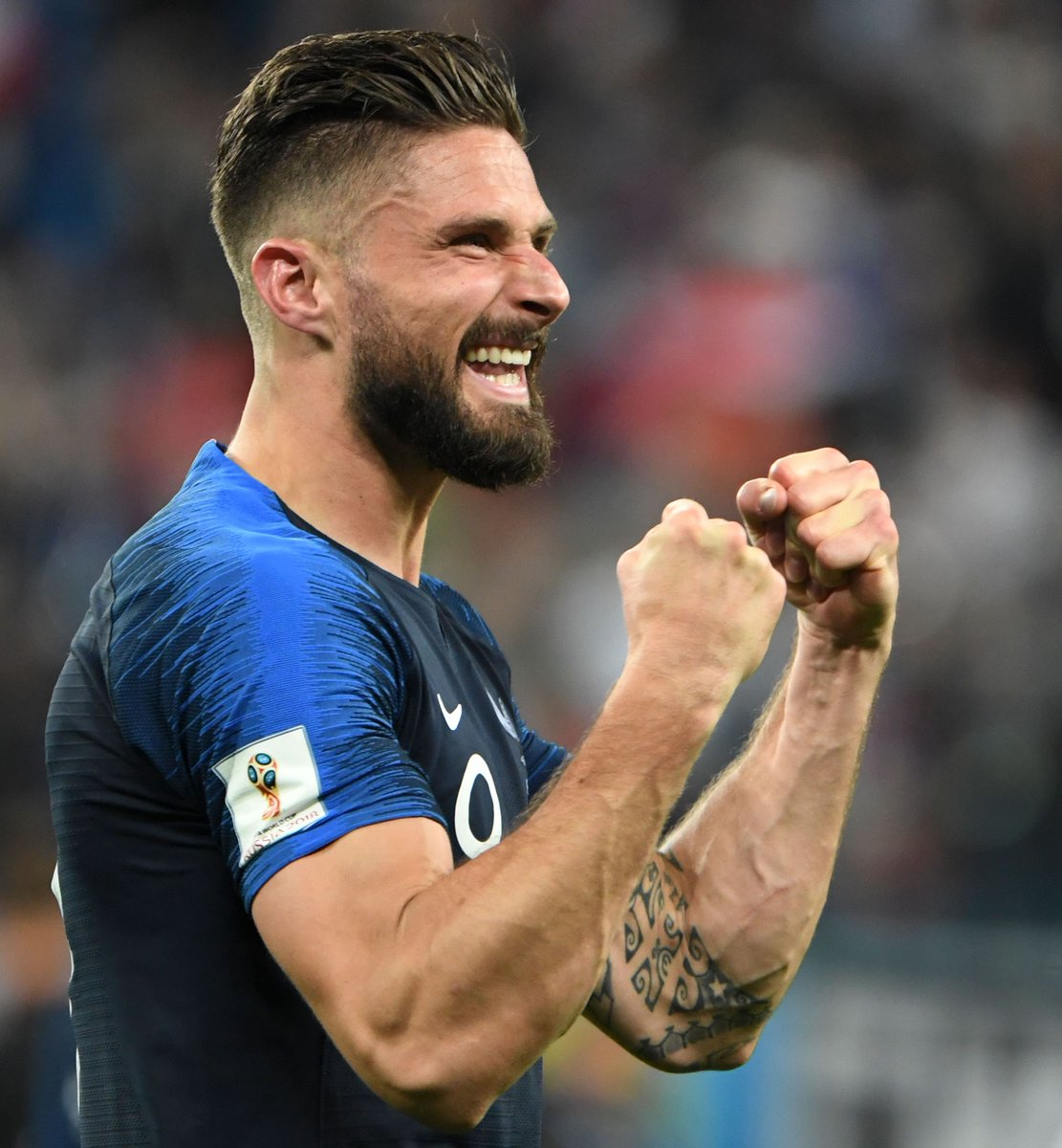 From Grenoble to Istres From Tours to Montpellier From Arsenal to a regular for #FRA  And now… a #WorldCup winner!  What a journey you've had, Olivier - we're all so pleased for you 😄