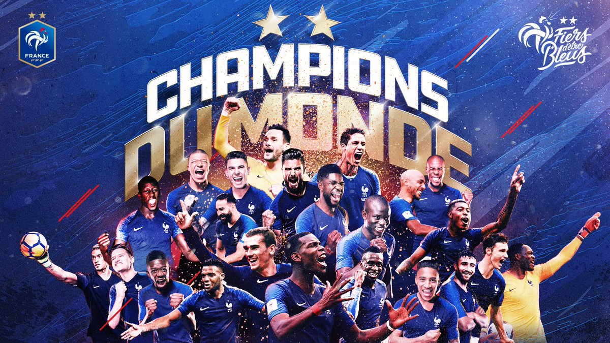 Congrats to @FranceOlympique and @equipedefrance! 👏 What a game. #WorldCupFinal