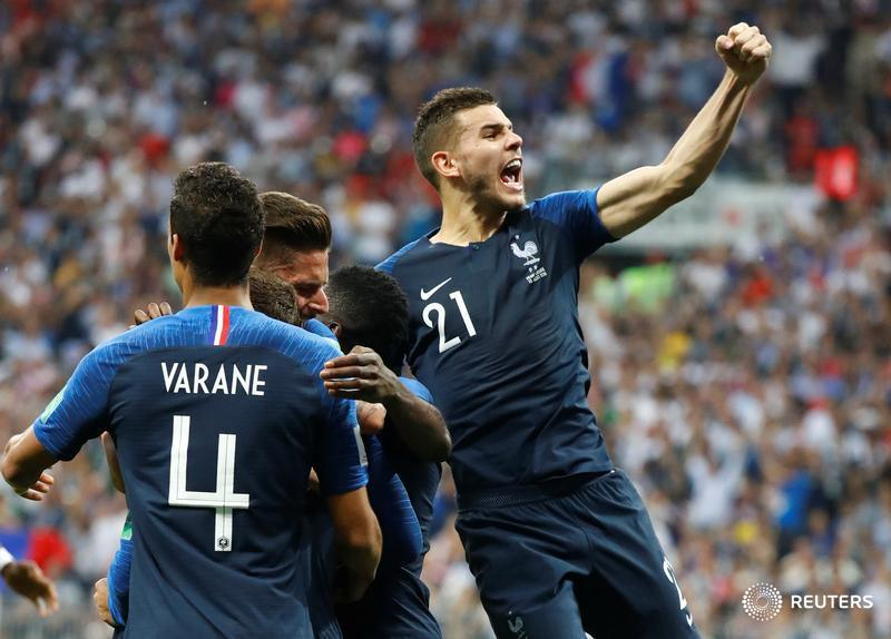 BREAKING: France are 2018 FIFA World Champions after beating Croatia in #WorldCupFinal