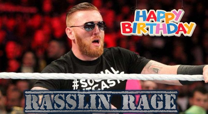 Happy Birthday to WWE Superstar Heath Slater