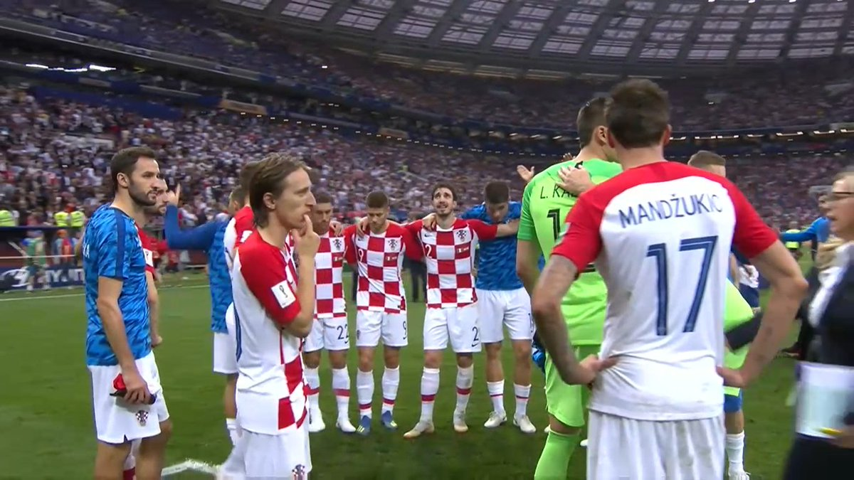 You&#39;ve got to feel for Croatia. What a magnificent run. #WorldCupFinal <br>http://pic.twitter.com/RMDnokwHbu