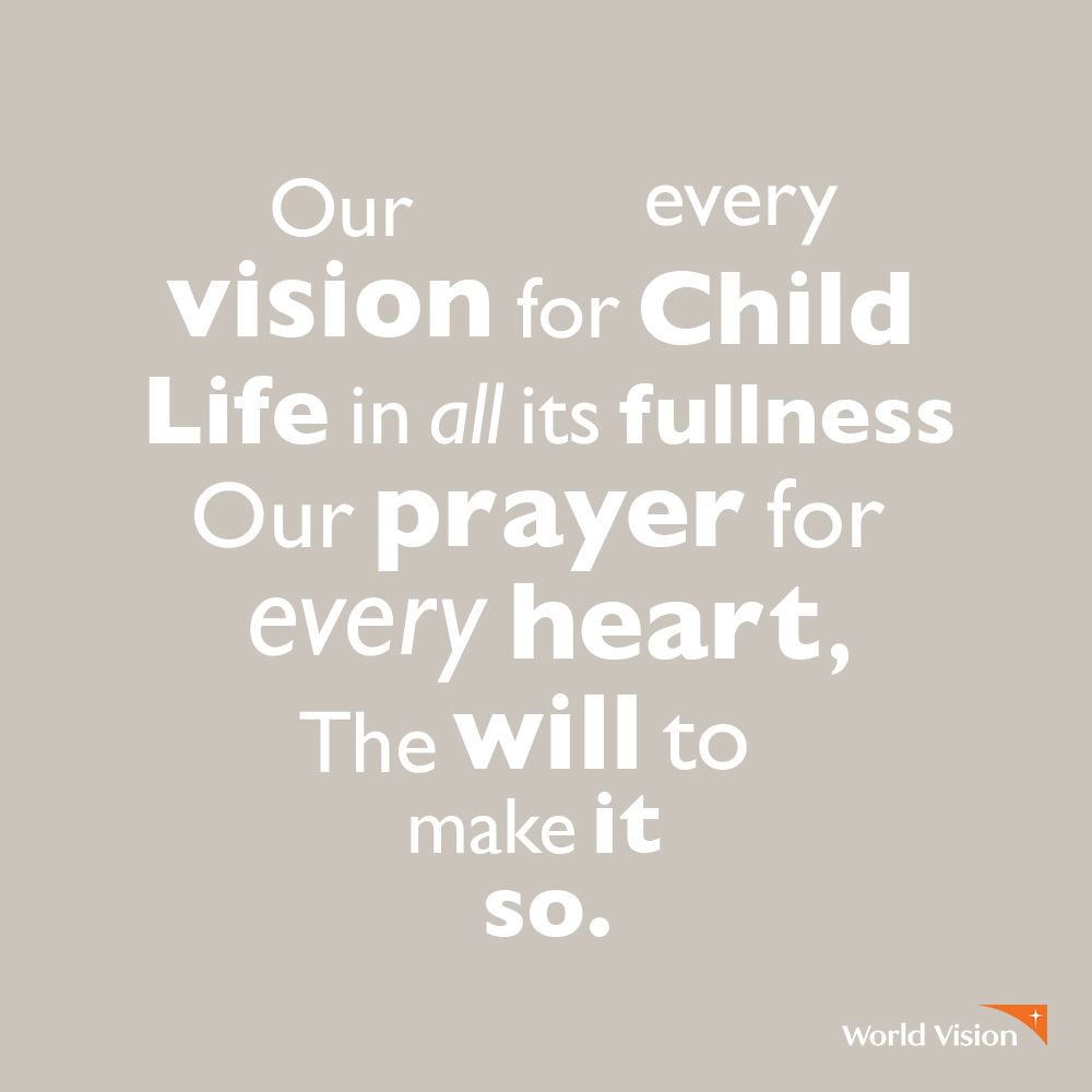 World vision worldvision twitter working for worldvision isnt just a job its a career with vision and purpose interested check out our current opportunities weareworldvision jobs gumiabroncs Gallery