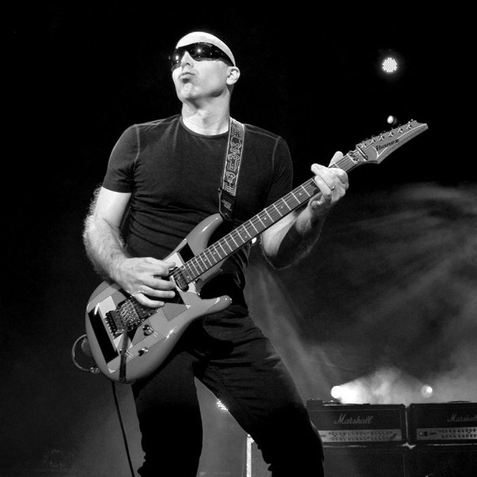 Happy Birthday to our old friend and silky smooth Joe Satriani (