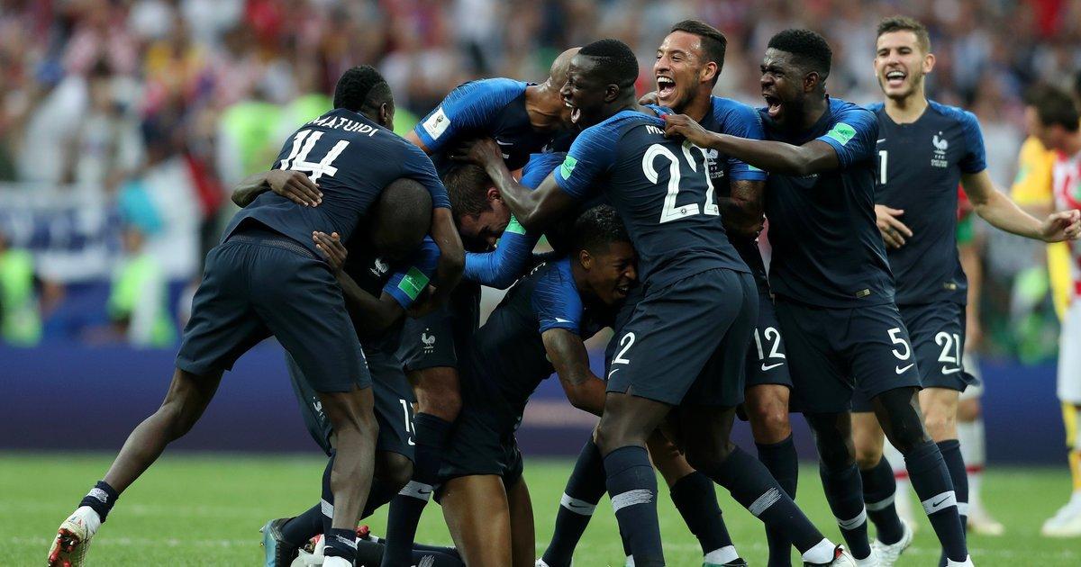 '프랑스 우승' 크로아티아는 멋진 준우승을 거뒀다(속보) https://t.co/t1DXgRYuSP