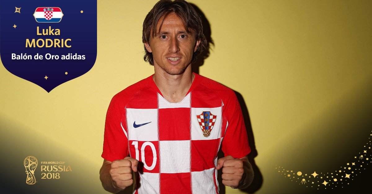 Copa Mundial FIFA �'s photo on Modric