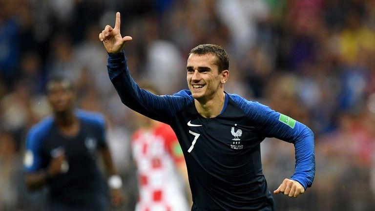 Griezmann é eleito o melhor do jogo da final da Copa do Mundo vencida pela França https://t.co/aILDseChfV