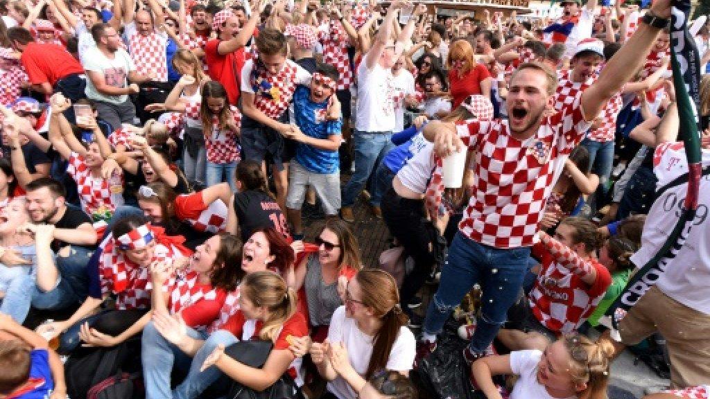 Heartbroken but proud Croatia fans celebrate their 'heroes' https://t.co/o38D6IWKY3 https://t.co/yuOGuhl2Xy