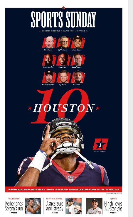 Two MVPs top the Houston 10 (20) https://t.co/S4hiMVCmIv @HoustonChron #Astros #Rockets #Texans