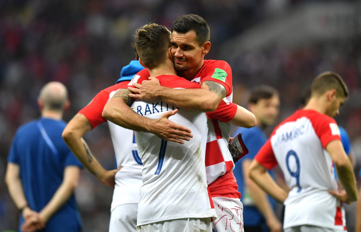 Dejan Lovren at the Champions League and World Cup final:  7 goals conceded  2 tackles won 1 interception 1 foul  1 loss of possession  0 trophies won  &quot;One of the best defenders in the world&quot;  <br>http://pic.twitter.com/uEUpZOpH17