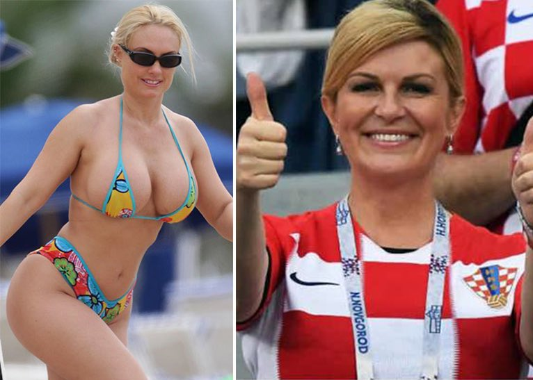 The Real winner of the World Cup is the President of Croatia  <br>http://pic.twitter.com/EsySpd5ocr