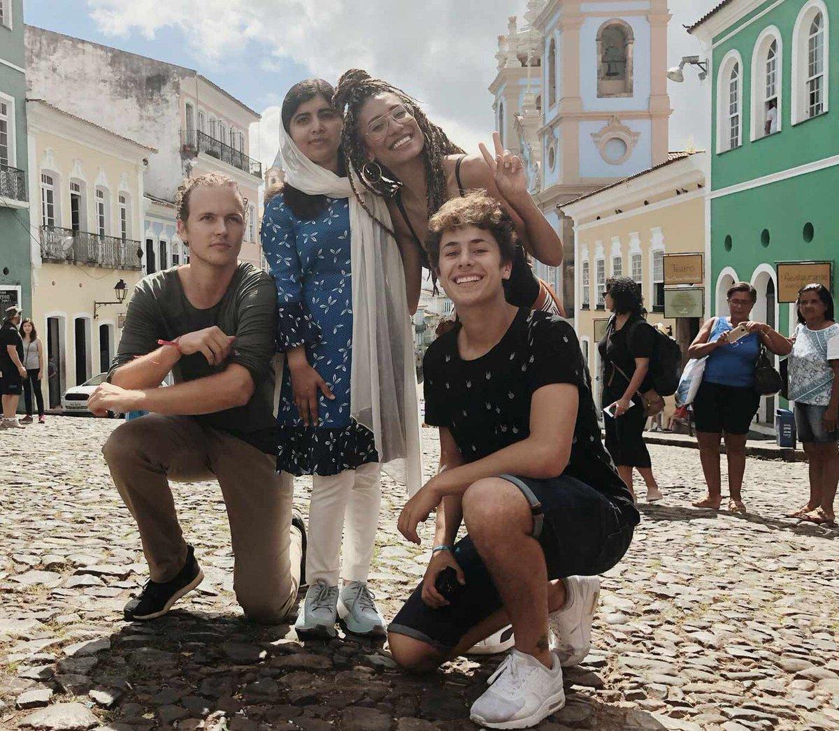 Quem são os 'influenciadores digitais do bem' que acompanharam Malala em sua viagem pelo Brasil https://t.co/UScbfmvmT2 #G1
