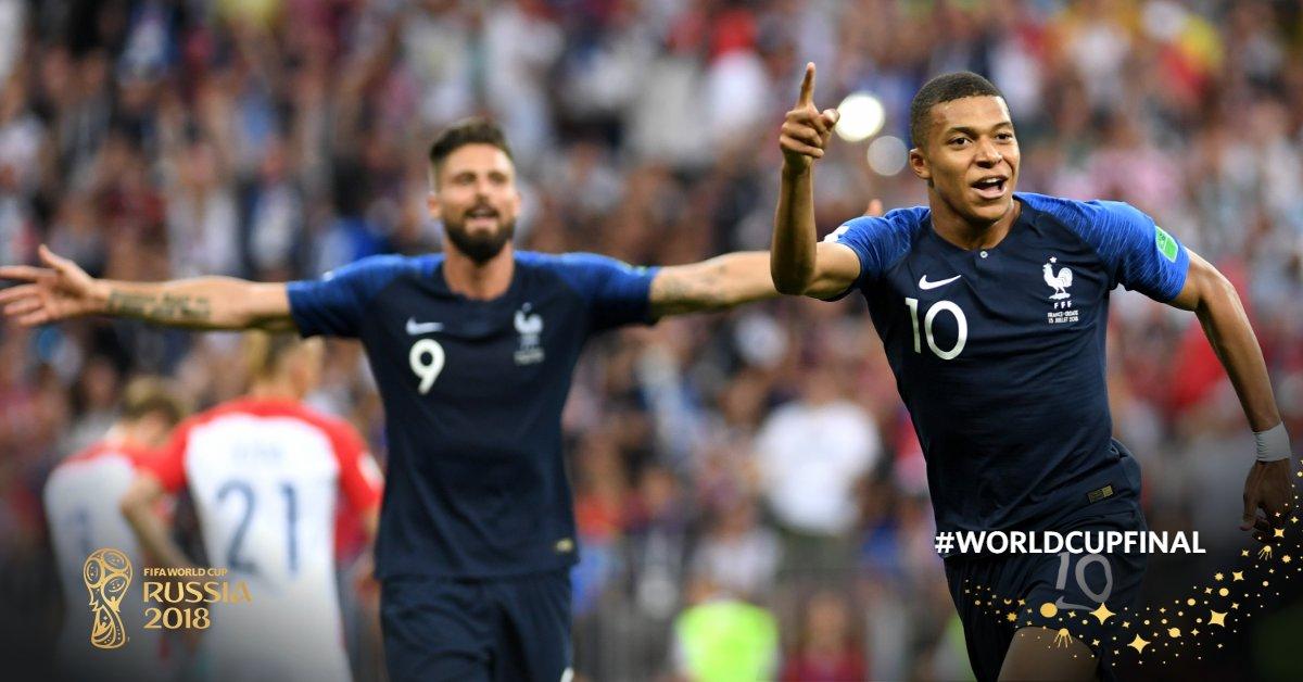 Match #64 | #FRA 4-2 #CRO   #WorldCupFinal