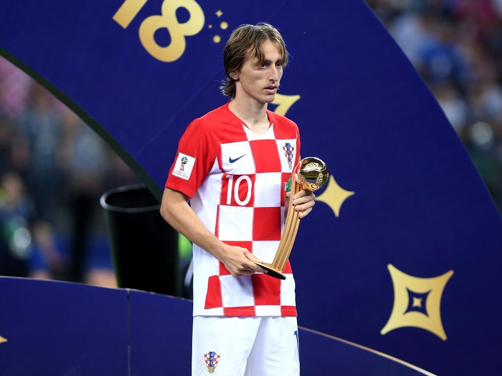 Croata Luka Modric é eleito o melhor jogador da Copa do Mundo de 2018 https://t.co/gSMychgmTw