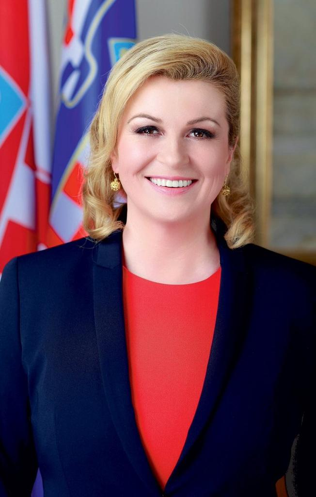 I think I have a new role model. Kolinda Grabar-Kitarović Croatia&#39;s President is teaching the world to be open and to stay humble. This is how a president supposed to be. This is how a true leader supposed to be.Congratulations for this #Croatia #WorldCupFinal <br>http://pic.twitter.com/12RBncaBrC