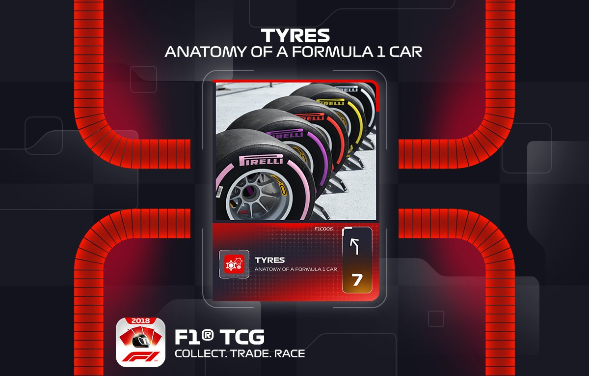 Official F1 Trading Card Game On Twitter Tyres F1 Fans Just Can