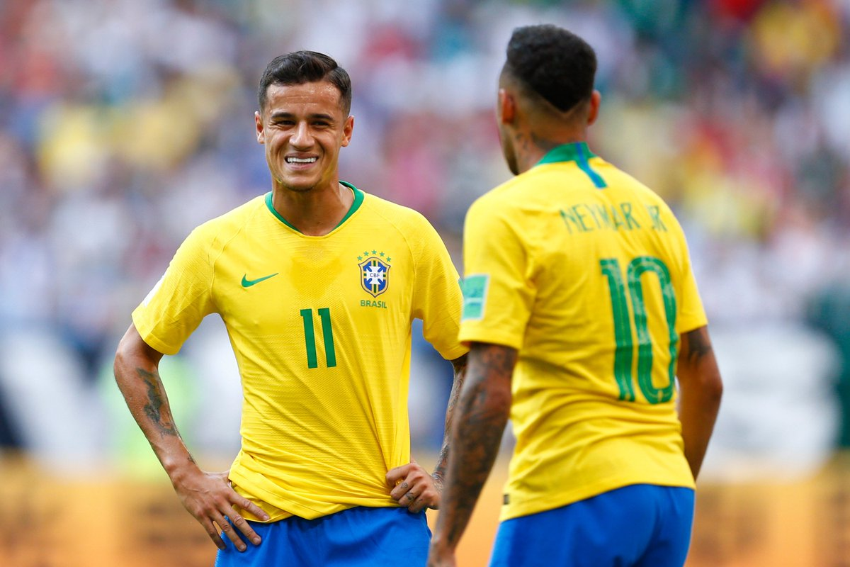 9 - Most chances created for a specific teammate at the 2018 #WorldCup 9 - Neymar to Coutinho 7 - Kieran Trippier to Harry Maguire 6 - Kevin De Bruyne to Eden Hazard Partnerships.