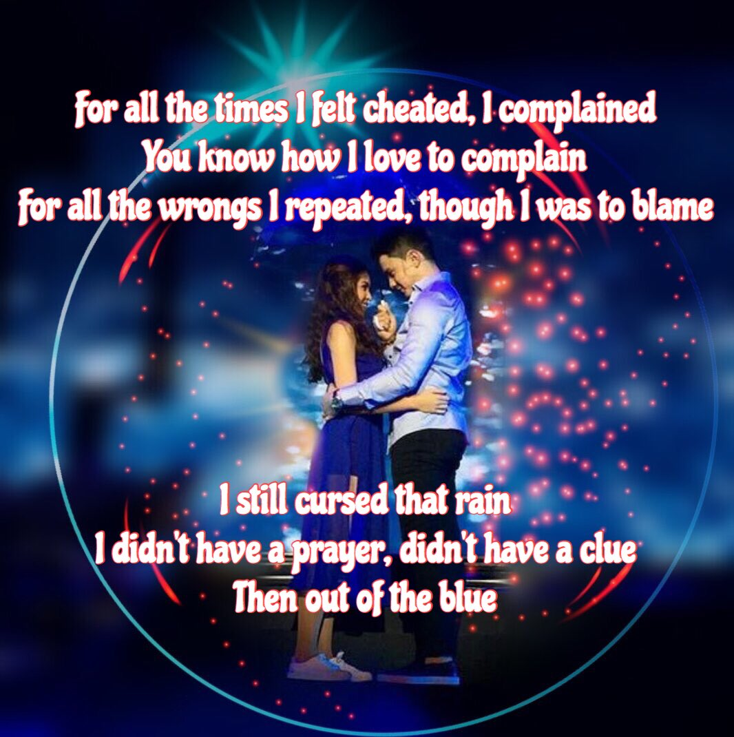 First stanza Of God Gave me you  Happy  #ALDUB3Years Celebrate3yrs withADN<br>http://pic.twitter.com/06KUic6rVw