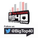 Image for the Tweet beginning: The Vodafone Big Top 40
