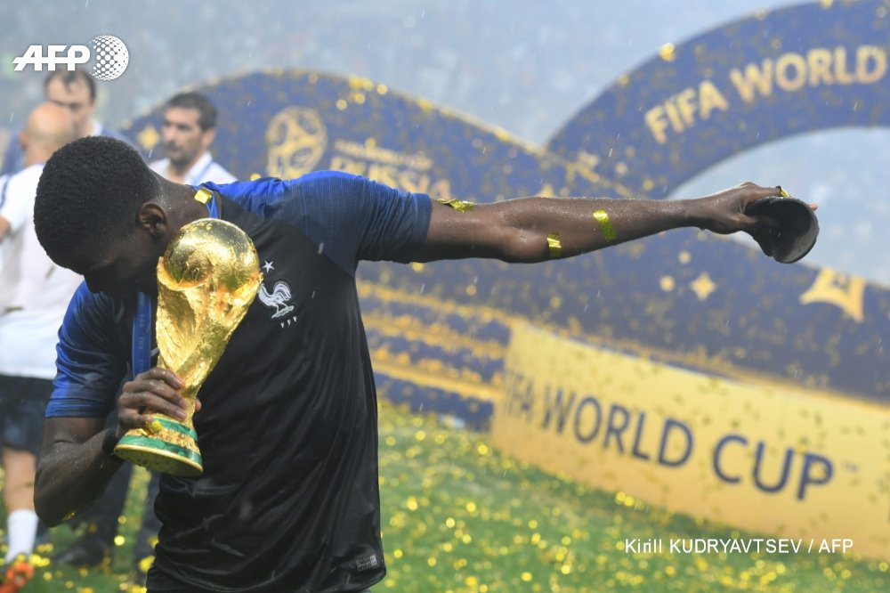 @paulpogba #AFP