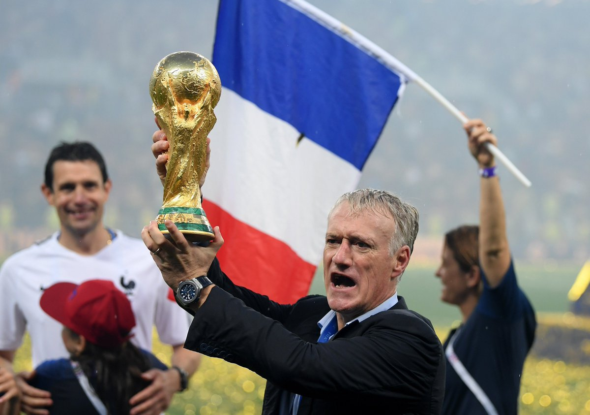 Il condottiero, Didier #Deschamps #WorldCupFinal #FRACRO #FRA