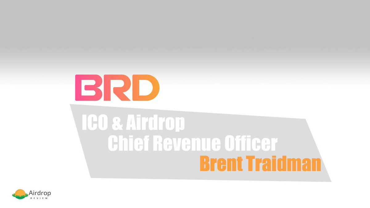 New podcast Alert Interview with Brent Traidman, Chief Revenue Officer at @BRDHQ. We talk about the future of BRD and more...   https:// buff.ly/2NPeq4g  &nbsp;    #crypto  #blockchain #bitcoin #ethereum  #altcoins  #freemoney #airdrop  #airdrops #airdrophunter #ico #breadwallet<br>http://pic.twitter.com/rVqtJ7TSdg
