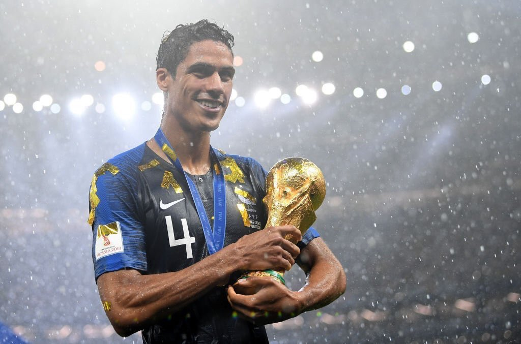 Raphael Varane, World Cup champion https://t.co/1FXC2SVZNn