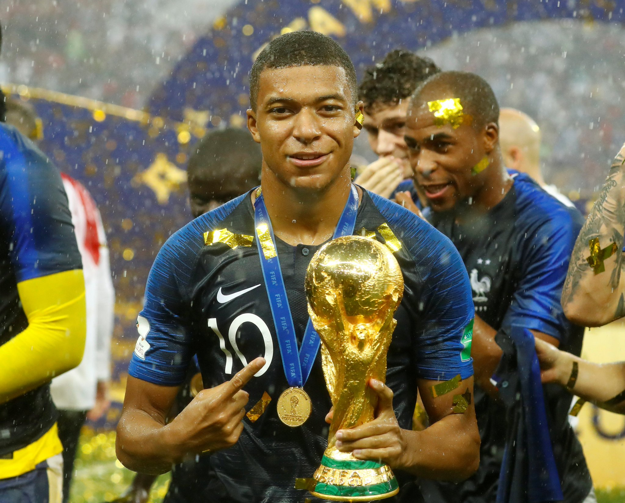 For Paris' poorer suburbs, Kylian Mbappe provides hope https://t.co/IXbR9X67yx #WorldCupFinal https://t.co/P0tcZ0MXSC