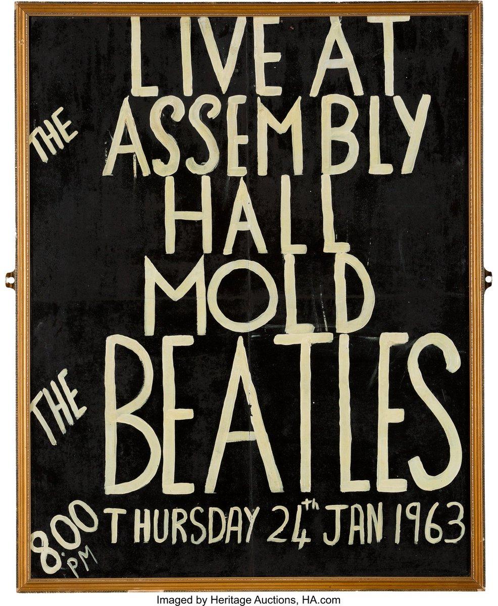 Bildresultat för The Beatles at the Assembly Hall, Mold, Wales