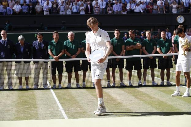 Wimbledon (H) - Kevin Anderson : «J\